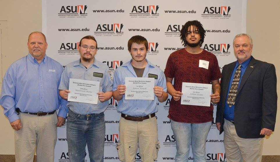 Collision Repair Skills Assessment Winners