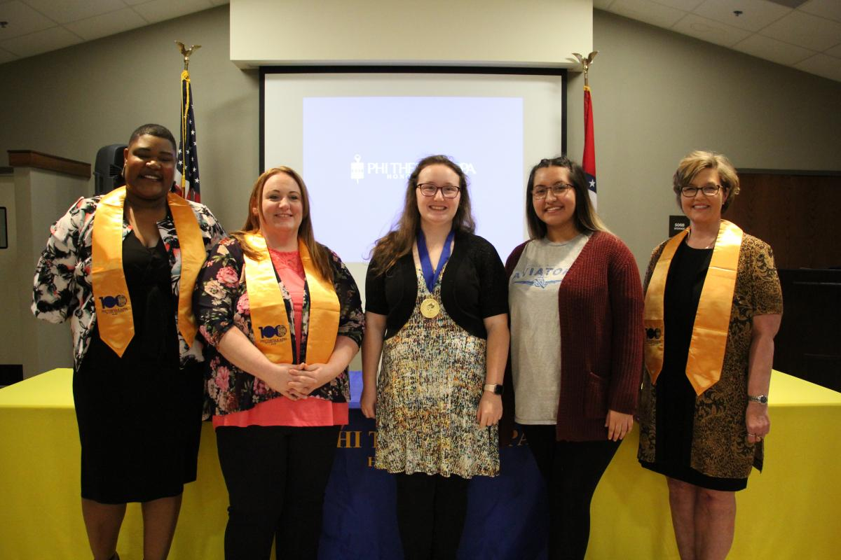 PTK's newly elected leadership team.