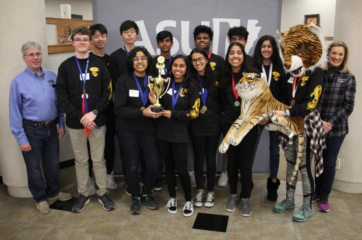 First Place: Little Rock Central High School Gold Team