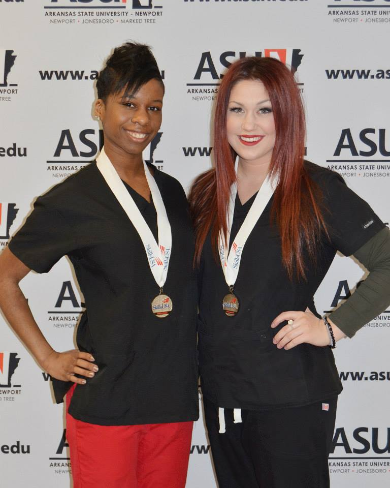 Brittany and Skye - Silver Winners