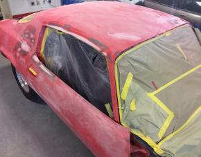 Hot Rod Blocked and Sanded