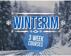 Winterim: 3 Week Classes