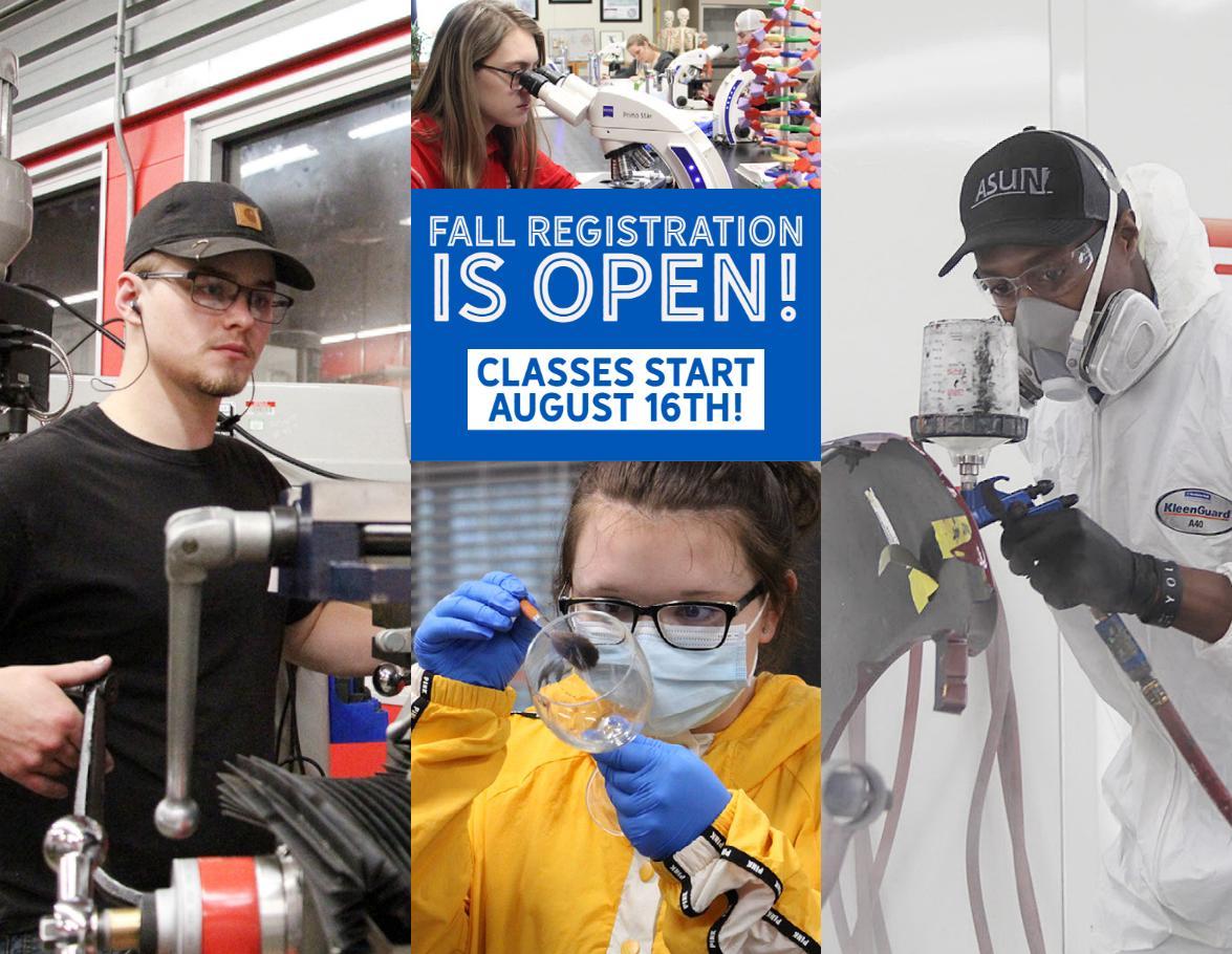 Fall 2021 Registration is Open!
