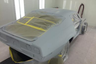 Hot Rod Primed and Ready!
