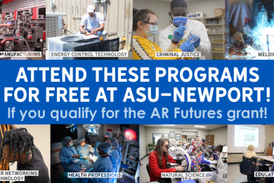 Attend these programs for Free at ASU-Newport!