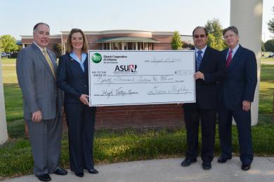 ASU-Newport Receives Scholarship Contribution From Electric Cooperatives of Arkansas