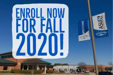 Enroll Now for Fall 2020