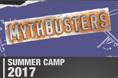 Mythbusters Logo Summer Camp 2017