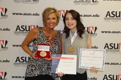 ASU-Newport Graduate Takes Top Honors at National SkillsUSA Competition