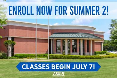 Enroll Now for Summer 2