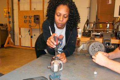 Repair the grinder
