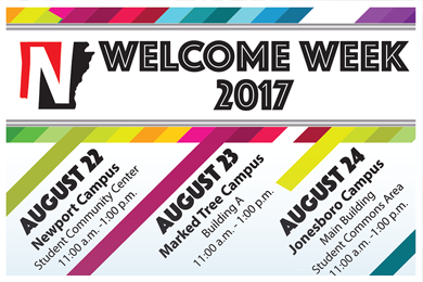 Welcome Week 2017