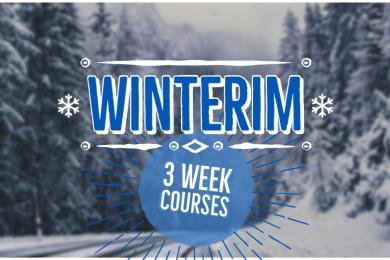 Winterim: 3 Week Classes