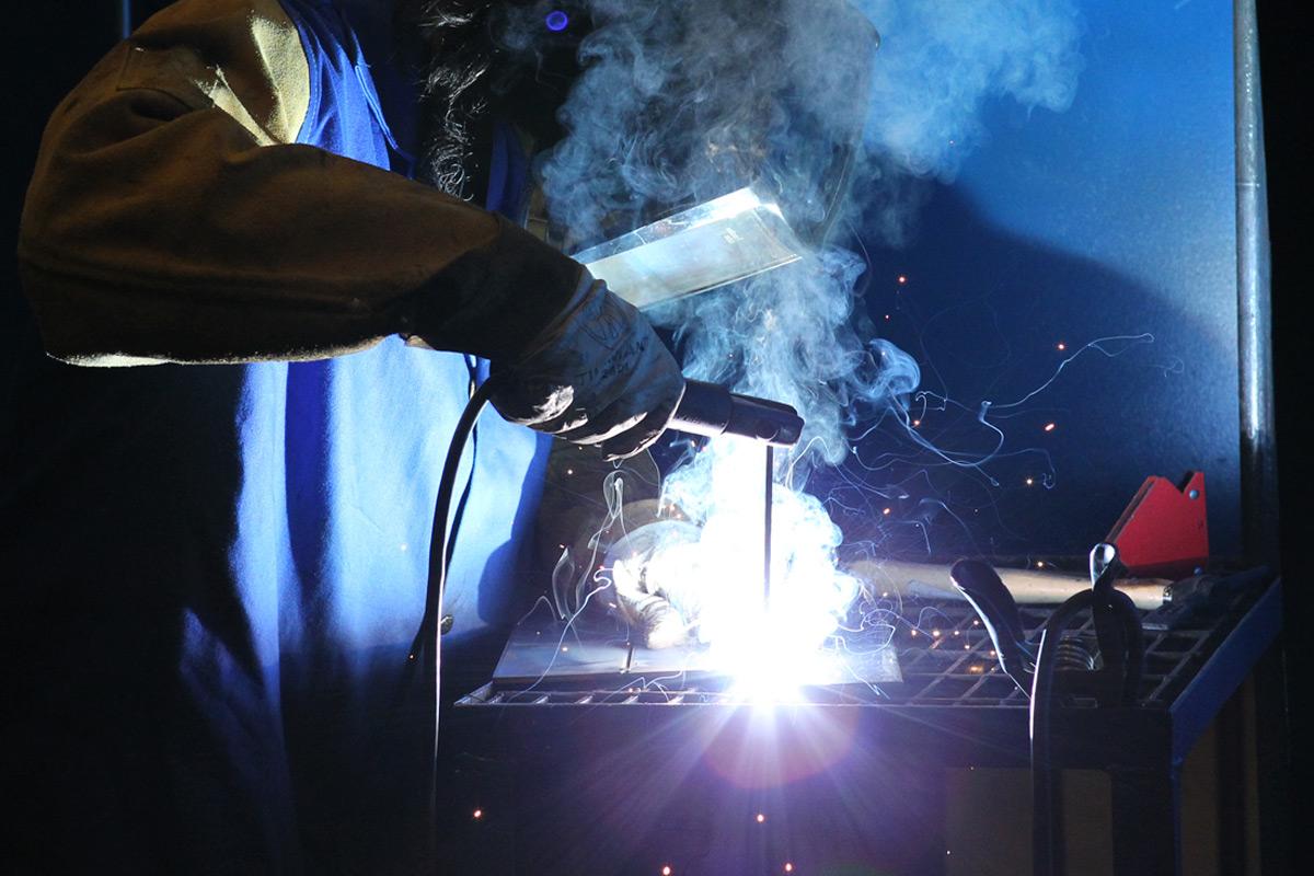 welding header